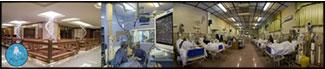 نصب دوربین مداربسته بیمارستان، درمانگاه،کلینیک
